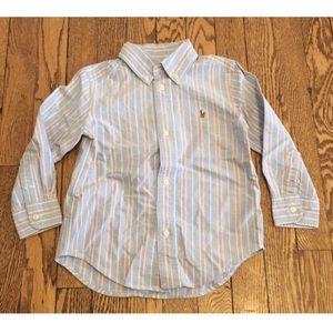 Ralph Lauren Size 3T Button Down